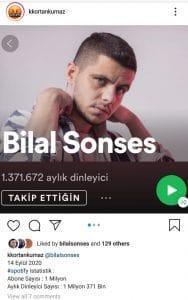 Bilal Sonses, Spotify'da Başarısını Konuşturdu