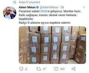 Radyo D Ekibi İdlib Yolcusu!
